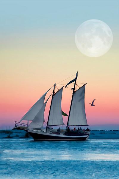 Sailboat, Destin, Florida
