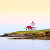 Lighthouse on Lime Kiln Island, San Juan Islands, Washington State