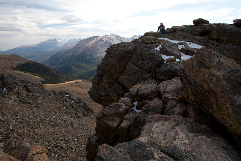 """While driving across Trail Ridge Road in Colorado we noticed these rocks near the top of the divide and stopped and did some climbing.  I snapped a few photographs of the boys and this is one of my favorite images.  <a href=""""http://rockymountainnationalpark.com/pages/trail_ridge_road.html"""">http://rockymountainnationalpark.com/pages/trail_ridge_road.html</a>"""