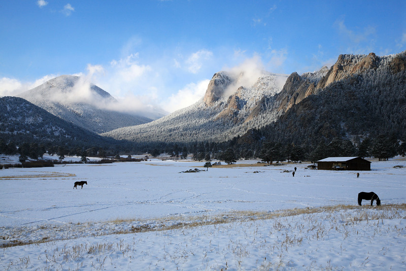 """This is the MacGregor Ranch in Estes Park Colorado.  We have stayed in a cabin near here several times on vacation as a family.  <a href=""""http://www.macgregorranch.org/"""">http://www.macgregorranch.org/</a>"""