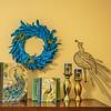 Peacock Decor -  Clay Hodson