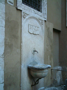 Ancient Water Supply, Rome, Italy