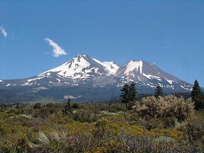 Mt. Shasta and Shastina, California