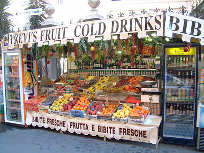 Fruit Stand, Rome, Italy
