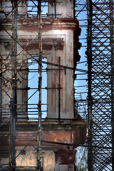"""""""preserving the destructed""""<br /> <br /> Image from the CUBA Series<br /> Havana"""