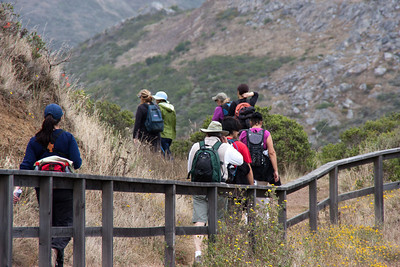 July 31: On the trail, Marin Headlands