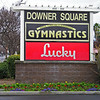 "Jan 13: A dry spell for photos. This was just because ""Downer Square"" seemed like a depressing name for a shopping center"
