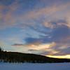 Ski Trip Sunset