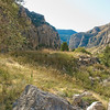 Fall in Wind River Canyon
