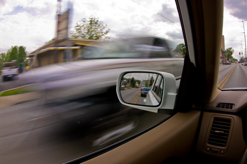 Shutter Speed - Stopping Action vs. Motion Blur<br><br>Subject motion relative to camera makes a difference.<br><br>Shutter Priority, 1/30 sec at f/16, ISO 100