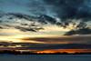 January 6, 2014.  Spenard Lake sunset