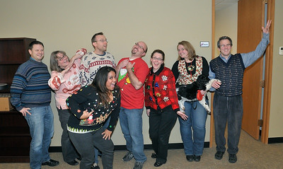13 Dec 2012: Ugly sweater day at work