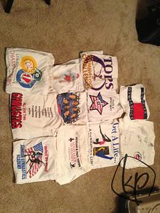 January 19, 2013 T-Shirt Quilt Plan
