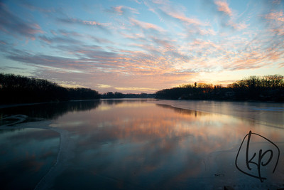 January 5, 2013 Sunrise Over Lake George