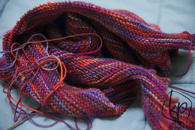 January 3, 2013 Knitting