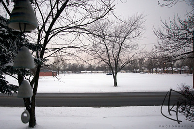 January 24, 2013 Hey It Snowed in Northwest Indiana
