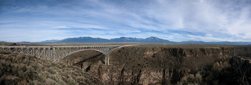 18 Dec 2014: Rio Grande George Bridge outside of Taos