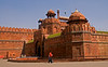 April 12, 2006 - Red fort in Delhi - a Mughal age architecture that characterises much of Delhi..
