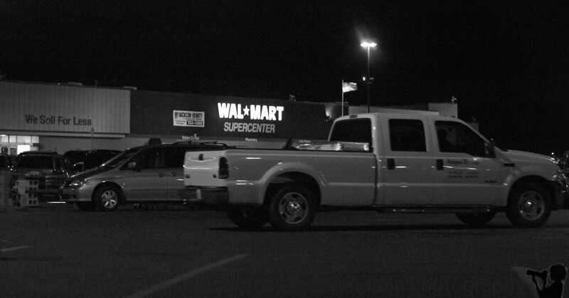 February 1, 2006 - the ultimate American mart! a stop at Walmart