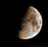 October 30, 2006 - 'the craters of the moon' - <br /> evening came so fast, the light was gone so early, if it continues, I might be taking moon shots for the rest of winter :))!
