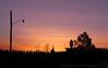 Jan 11, 2006 - sunset from the backyard