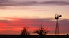 Jan 7,2006 - a windmill at sunset.Near Amarillo,TX on a trip to Palo Duro Canyon.