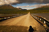 August 14, 2007 - the lonely gravel road ahead <br /> <br /> again, the Denali Highway and me :)