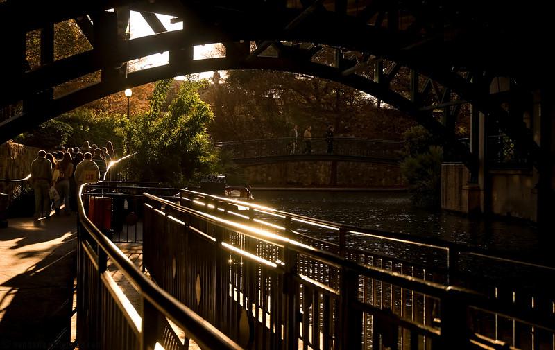 December 15, 2007 - Moving on ahead, San Antonio River Walk