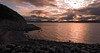 July 29, 2007 - Sunset at Sandpoint, AK <br /> <br /> Back on MV Tustumena enroute to Kodiak Island. Sunsets happen at around 11.30 pm or so, but the light starts to change to beautiful evening light by around 9.30-10 pm.