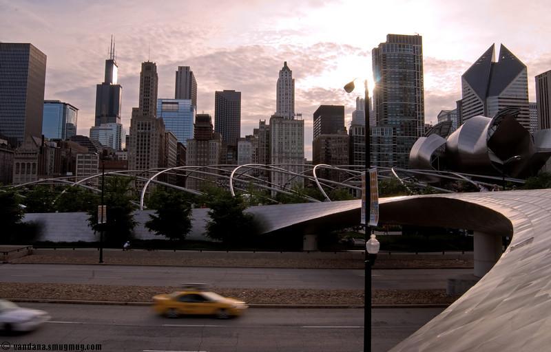 June 2, 2007 - somehwere around Millenium park, Chicago