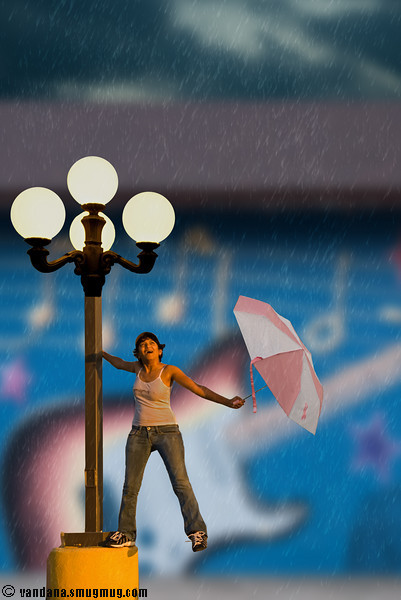 """June 16, 2007 - Singing in the rain  a tribute to the movie and so far my entry for <a href=""""http://dgrin.com/showthread.php?t=63425"""">LPS #7</a>"""