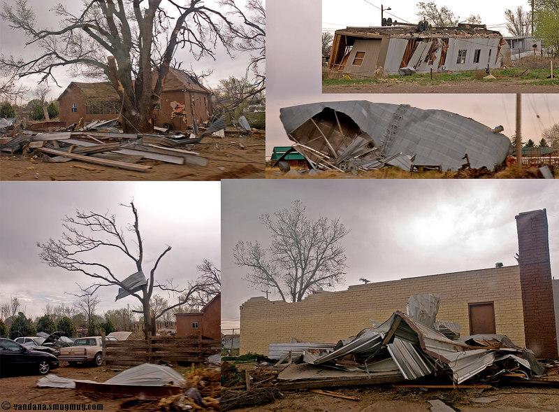 March 25, 2007 - Tornado hits.