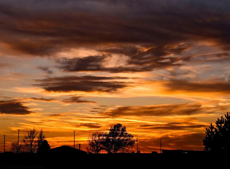 November 17, 2007 - a colorful evening