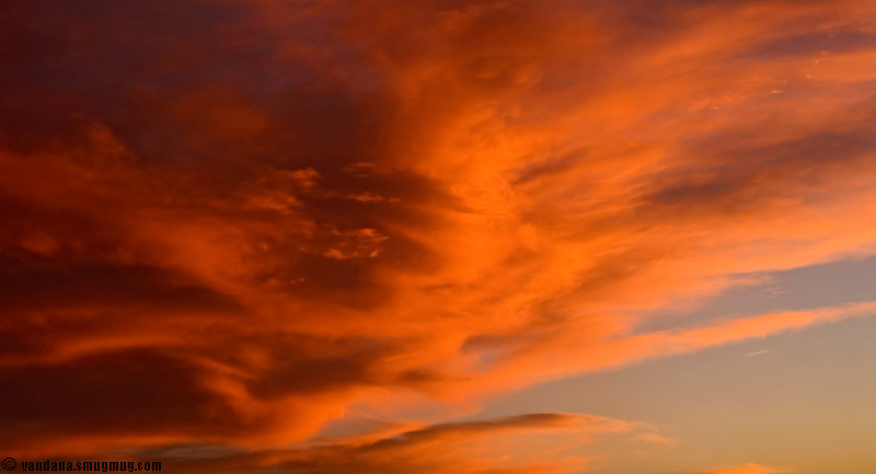 October 10, 2007 - and another day comes to an end with some brilliant skies