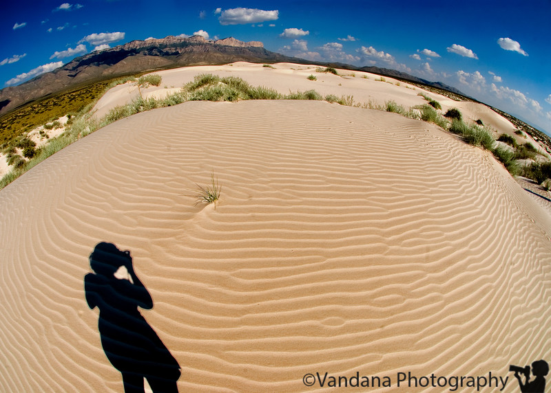 September 2, 2007 - Gypsum sand dunes at Guadalupe Mountains National Park, Tx