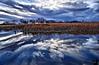 November 9, 2008 - Reflections at Bosque Redondo Lake, Fort Sumner, NM