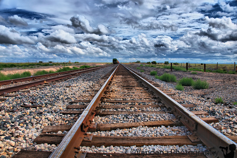 September 3, 2008 - Tracks<br /> I guess I like the idea of being on the road, the train, ....