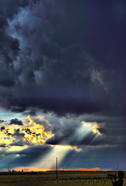 August 11, 2008 - the light shines through<br /> <br /> More storm and rain today.