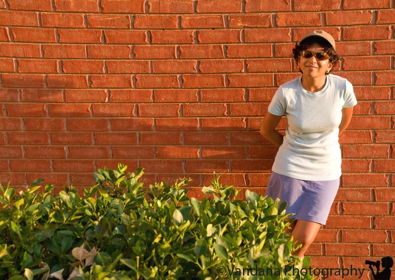 September 7, 2008 - V at the frontyard