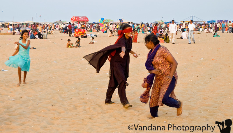 Jan 30, 2008 - Playing blind man's bluff in Marina Beach, Chennai<br /> <br /> I'm cheating and adding pics from my India trip as my dailies. I wasn't able to shoot at all due to work, a cold and other good reasons :)