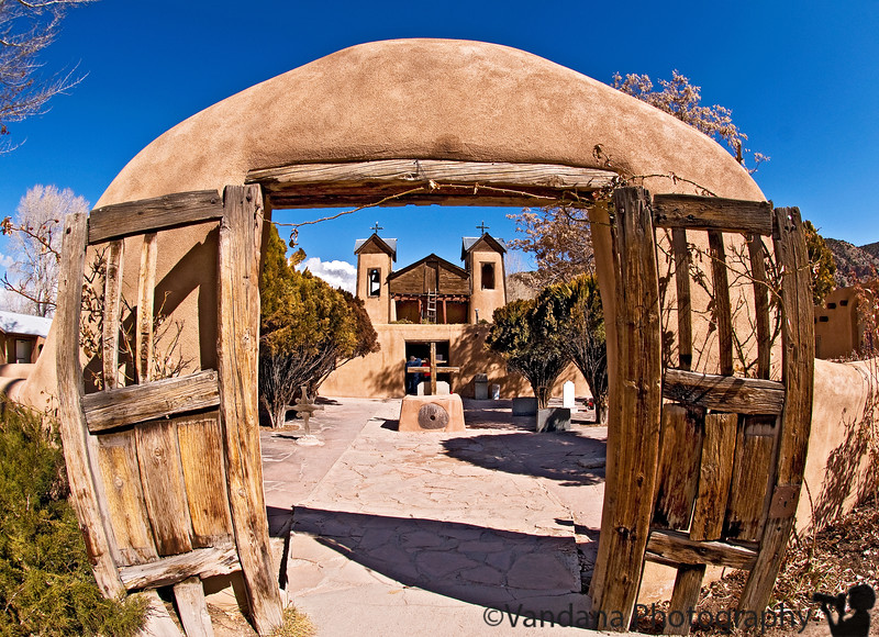 """Feb 17, 2008 - <a href=""""http://en.wikipedia.org/wiki/Chimayo"""">Santuario de Chimayo</a>  Just returned from Taos, tired, snow storm on the way.."""