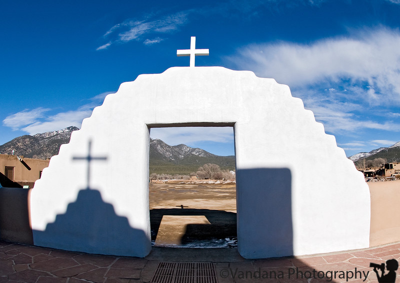 Feb 18, 2008 - St.Jerome's church at Taos Pueblo<br /> <br /> not from the day, but from the weekend trip. Will catch up with other dailies soon. How come I didn't get a 3 day weekend :) ?!