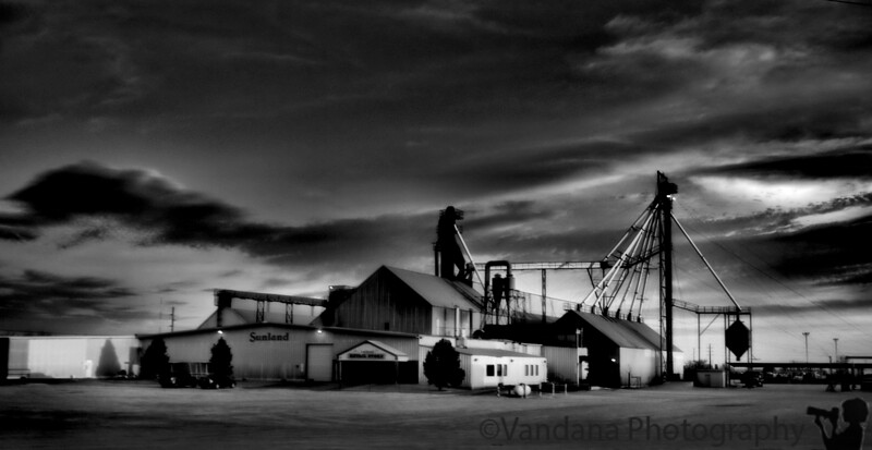 April 2, 2009 - the spooky Portales peanut factory