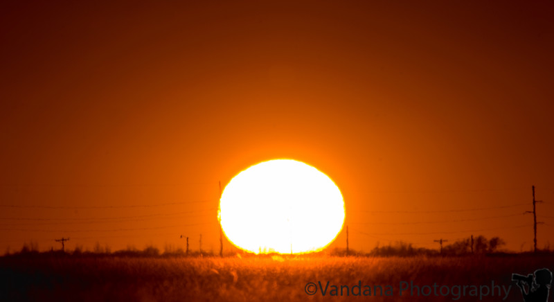 Feb 12, 2009 - Yet another sunset in Clovis