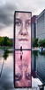 """September 28, 2009 - The crown fountain at Millenium Park, Chicago.<br /> <br /> """"A fountain is the memory of nature, this marvelous sound of a little river in the mountains translated to the city."""" the designer of Crown Fountain, Jaume Plensa."""