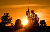 Feb 18, 2009 - Silhouettes and sunsets at Clovis, NM