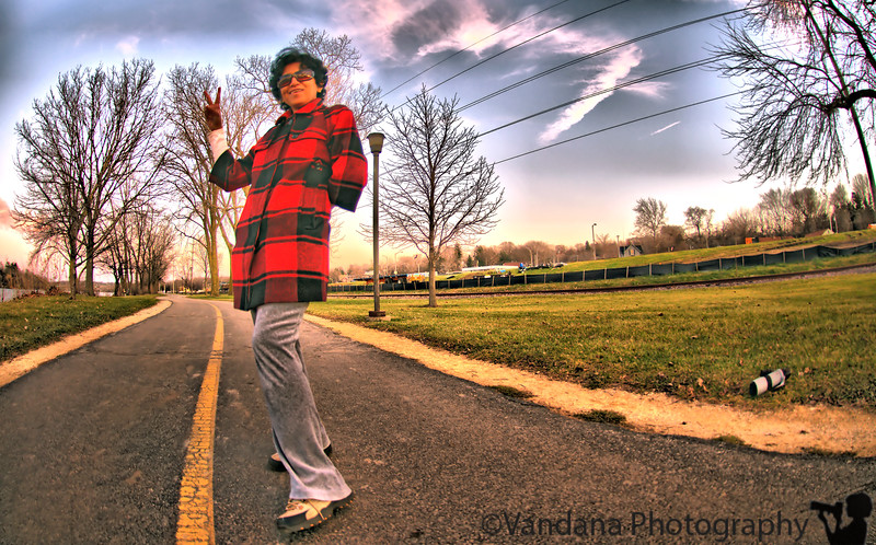 December 3, 2009 - A walk in the park