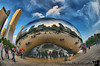September 26, 2009 - At the Cloudgate, Chicago, IL. Spot me !