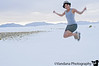 June 25, 2009 - Up in the air, at White Sands National Monument, NM. <br /> photo by K.