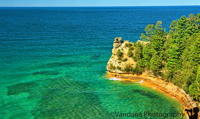 September 13, 2010 - Pictured Rocks National lakeshore, MI<br /> <br /> one freshly processed from the Michigan weekend ! such deep colors and photoshop didn't do it !